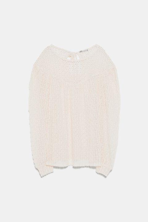 White, Clothing, Beige, Outerwear, Sweater, Neck, Sleeve, Cardigan, Wool, Top,