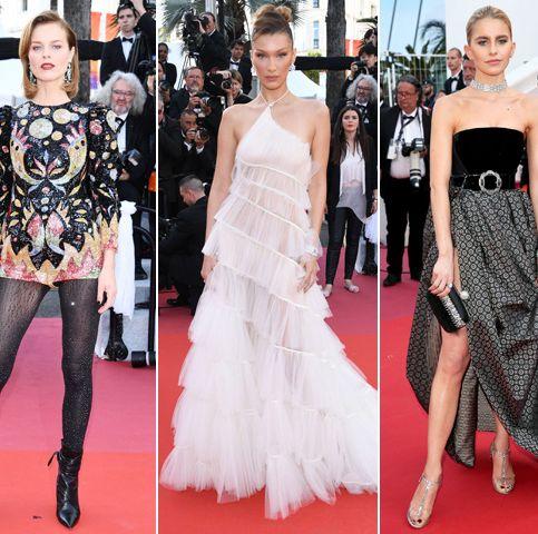Fashion model, Red carpet, Dress, Clothing, Carpet, Fashion, Flooring, Haute couture, Shoulder, Premiere,