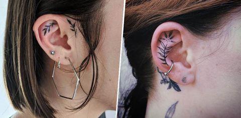 Face, Ear, Neck, Cheek, Skin, Tattoo, Head, Organ, Chin, Nose,