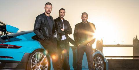 BBC Top Gear hosts