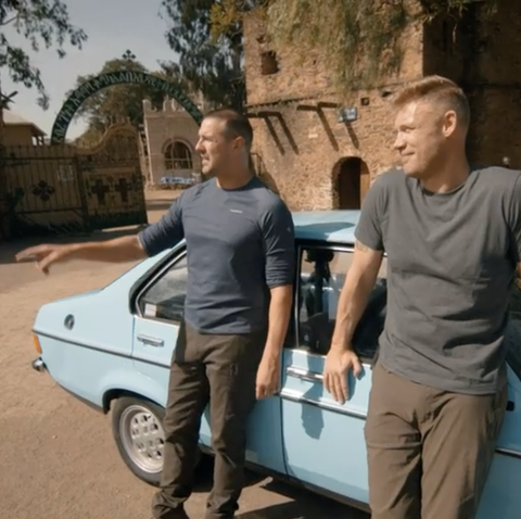"Top Gear viewers praise Freddy Flintoff and Paddy McGuinness's ""hilarious"" debut"
