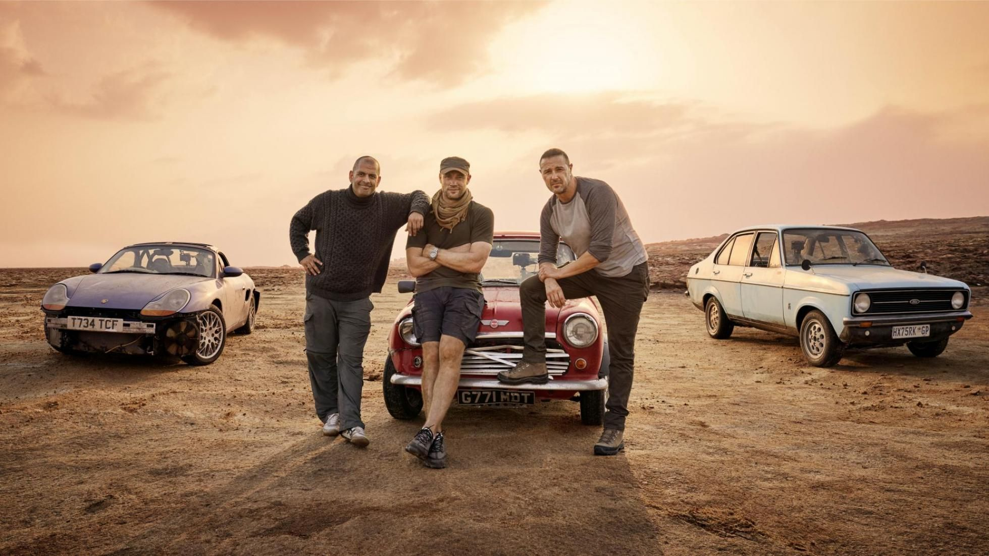 Top Gear drops new series 28 trailer as Freddie Flintoff and Paddy McGuinness return