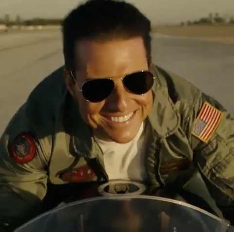 Top Gun: Maverick is already stirring some controversy with Tom Cruise's new jacket