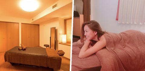 Room, Furniture, Bedroom, Interior design, Bed, Leg, Comfort, Suite, House, Building,