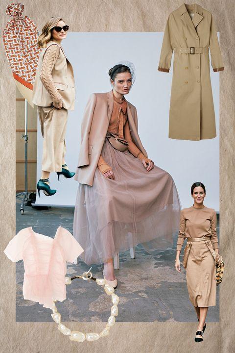 Clothing, Fashion, Vintage clothing, Pink, Dress, Fashion model, Trench coat, Outerwear, Fashion design, Coat,