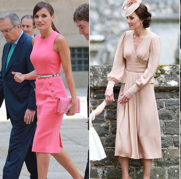 ロイヤル、プリンセス、ピンクドレス、キャサリン妃、レティシア王妃