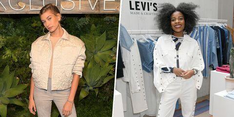 White, Clothing, Jeans, Denim, Fashion, Outerwear, Jacket, Shirt, Blazer, Style,
