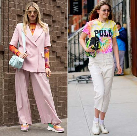 Clothing, Street fashion, Fashion, Pajamas, Fashion model, Jeans, Footwear, sweatpant, Trousers, Sportswear,