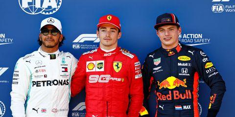 Hamilton espera rivalidad con Verstappen y Leclerc