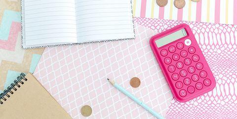 money diary budgeting