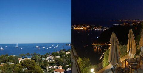 Sky, Property, Night, Real estate, Coast, Town, Sea, Horizon, Lighting, Tourism,