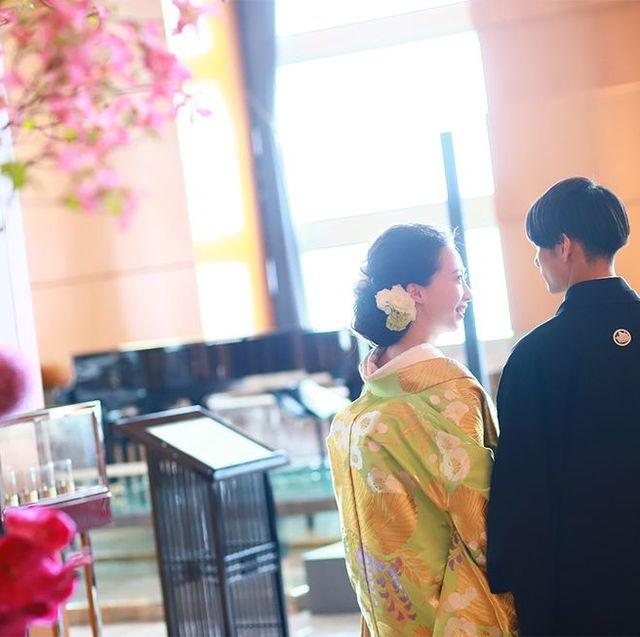 25ansウエディング オフィシャルブライズkasumiさん和装ウエディング画像のランキングテーマ扉画像。