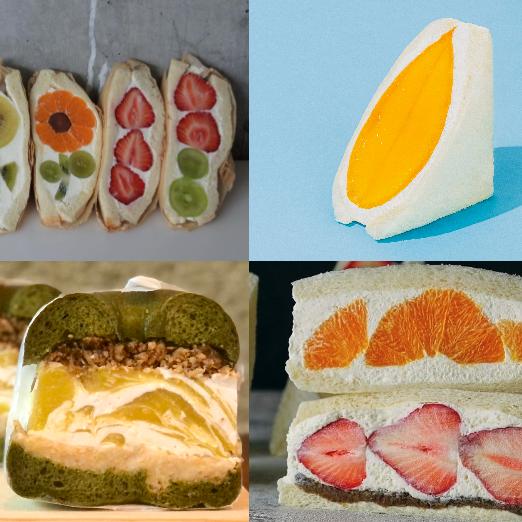 進化系フルーツサンド10軒 ブランドくだものにパンにクリームにこだわりが凝縮!