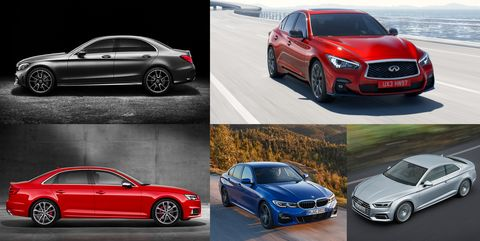 20 top selling compact luxury cars