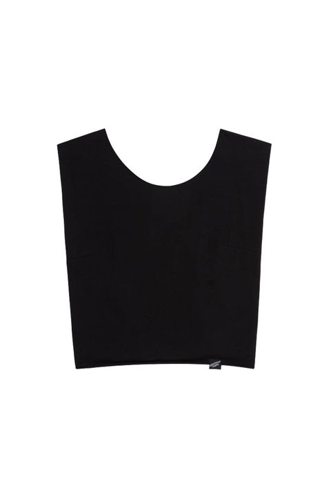 Illustrated people Tie Back Crop Top