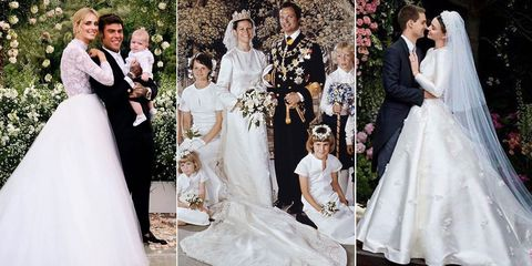 「ディオール」をまとった花嫁