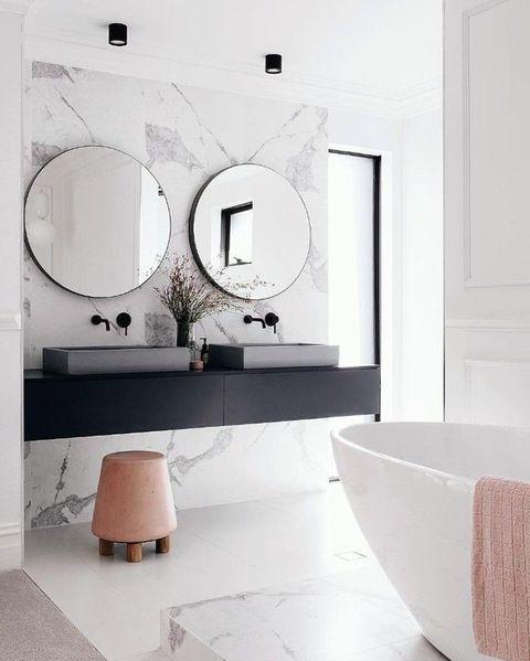 10 decisiones que te harán tener un baño de revista