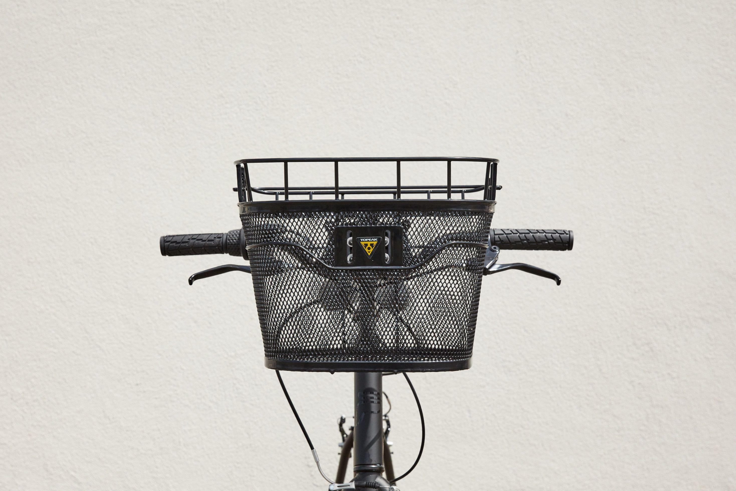 Black Topeak Basket Front Bike Basket
