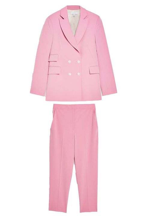 Topshop pink co-ord suit