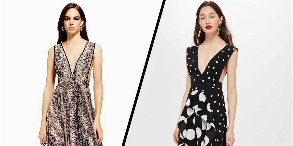 Topshops Cult Polka Dot Dress Has Had A Snakeskin Makeover For