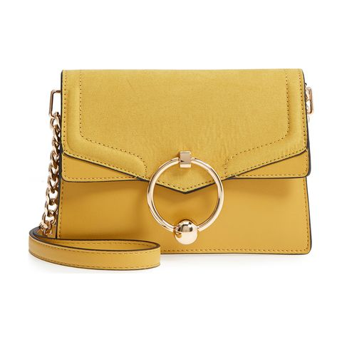 topshop yellow crossbody