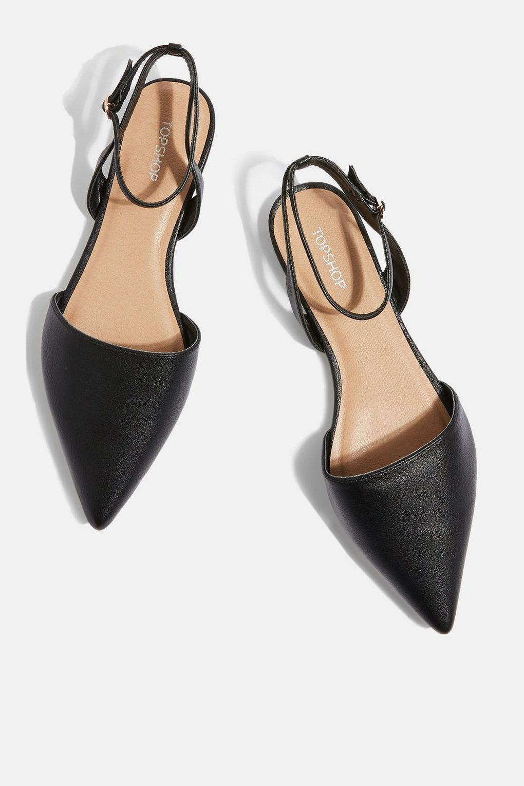 Business Casual Topshop, $32 SHOP IT Time to upgrade your standard black flats.