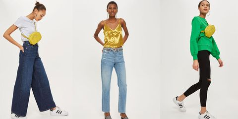 Topshop jeans half sizes