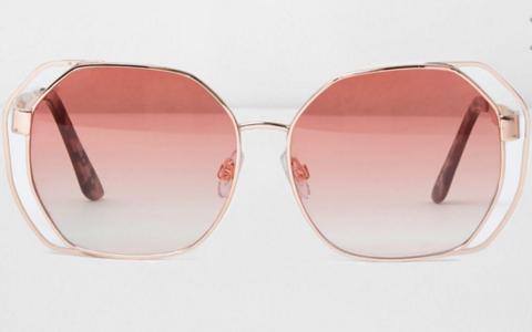 zonnebril-roze