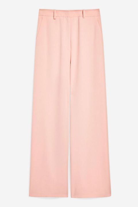 Topshop pastel pink trousers