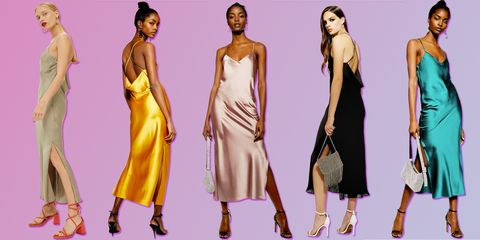 2e8bffbc7538d Topshop satin slip dress - Topshop is selling a dress version of its ...