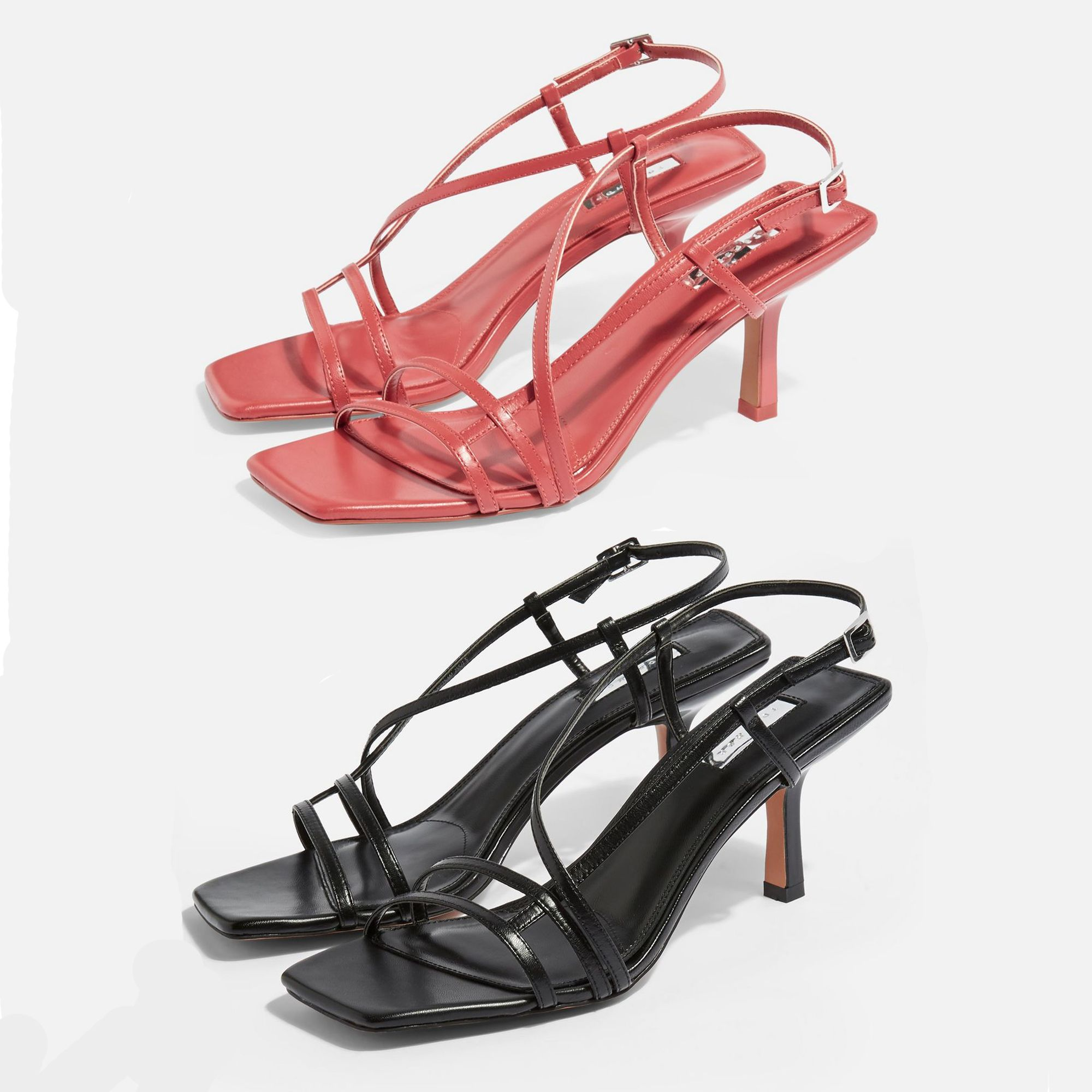 These Sell Out 46 Classic Strappy Shoes From The High Street Are Back In Stock