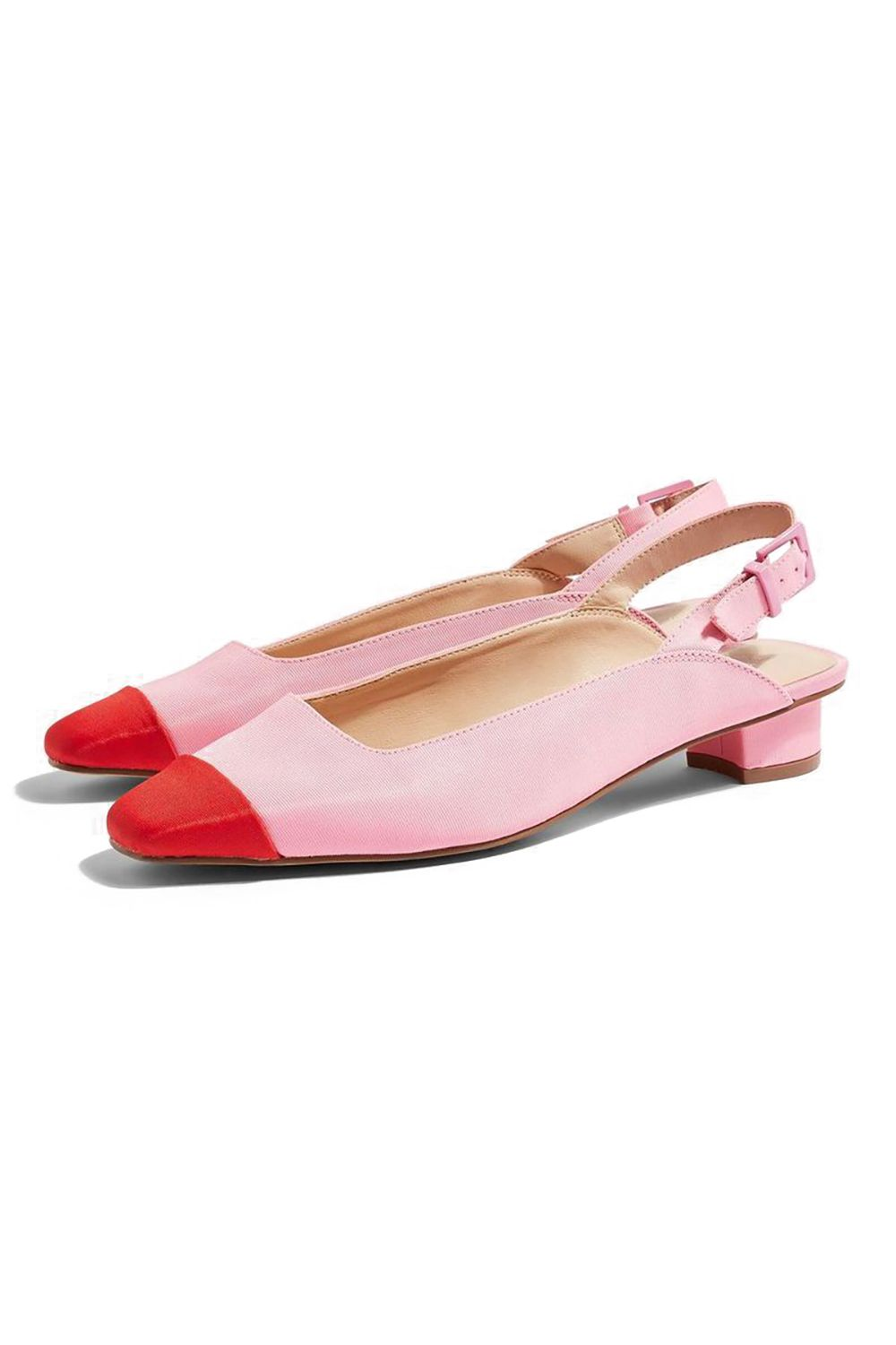 Girly Slingbacks Topshop, $48 SHOP IT Everything about this little pair is perfect.