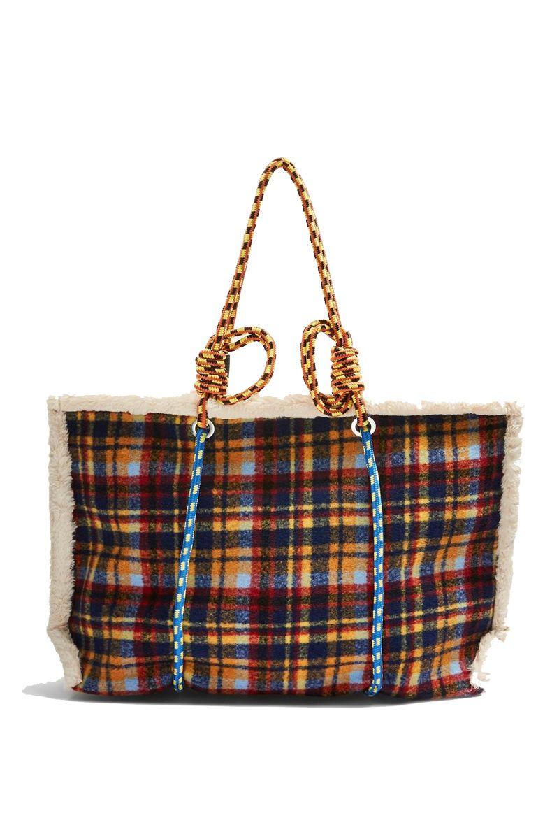 Topshop Blanket Rope Tote Bag