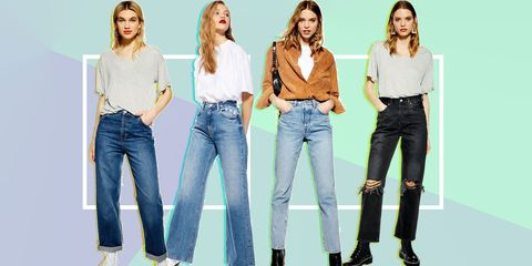 ec98f3b4ea412a Topshop has launched four new jeans styles, and we'd wear every ...