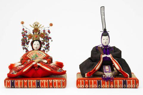 男雛・女雛 京都・丸平大木人形店製 日本・明治時代 19世紀  株式会社虎屋蔵