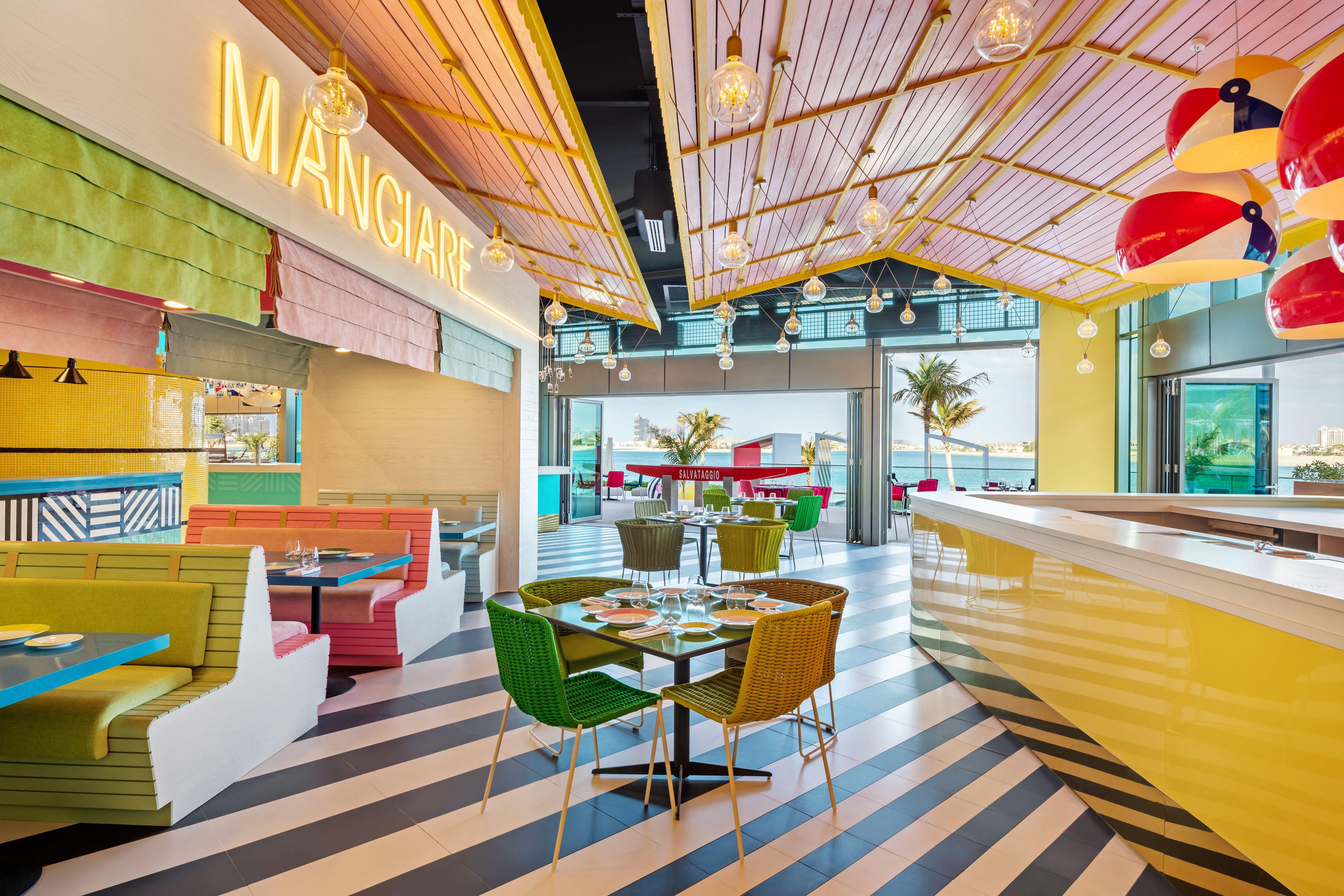 Massimo Bottura's New Restaurant in Dubai is a Riff on the Italian Riviera
