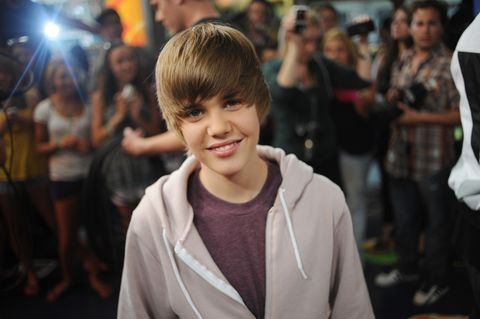Toronto - August 7th, 2009: Justin Bieber poses at the Much Music Environment, August 7th, 2009. Bie