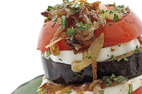 torre de verduras