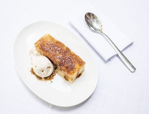 torrija del restaurante casa orellana, madrid