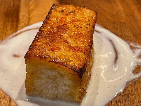 torrija del restaurante estimar, madrid