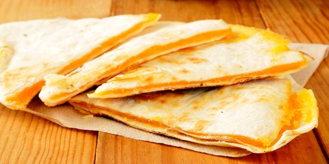 Dish, Food, Cuisine, Ingredient, Quesadilla, Flatbread, Baked goods, Kulcha, Finger food, Staple food,