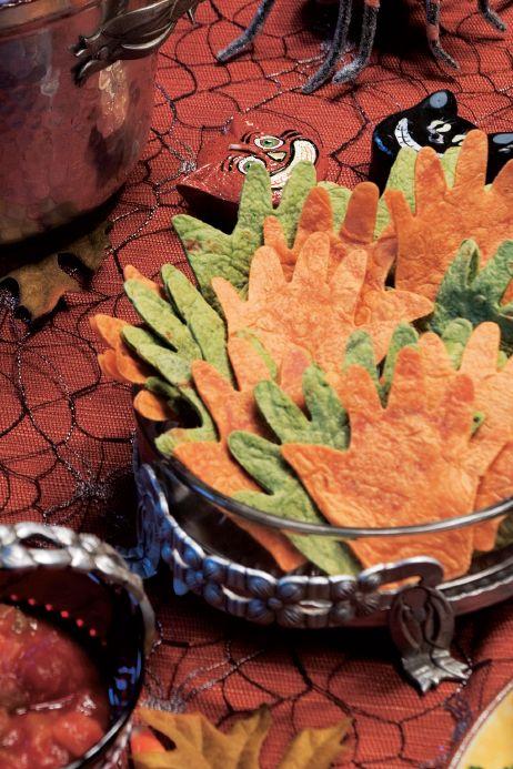 Tortilla Hands and Salsa