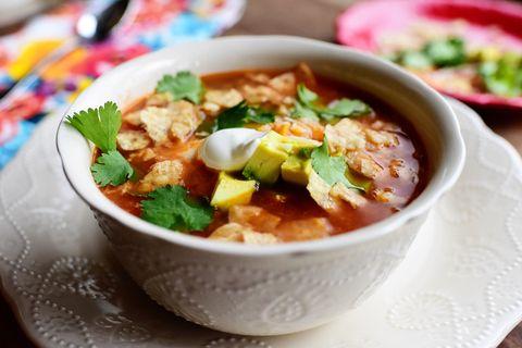 soup instant pot tortilla