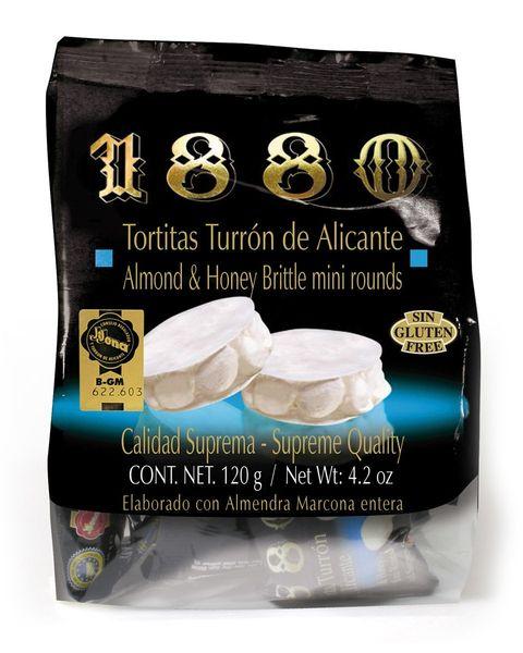 Tortitas Turrón De Alicante 1880 120G