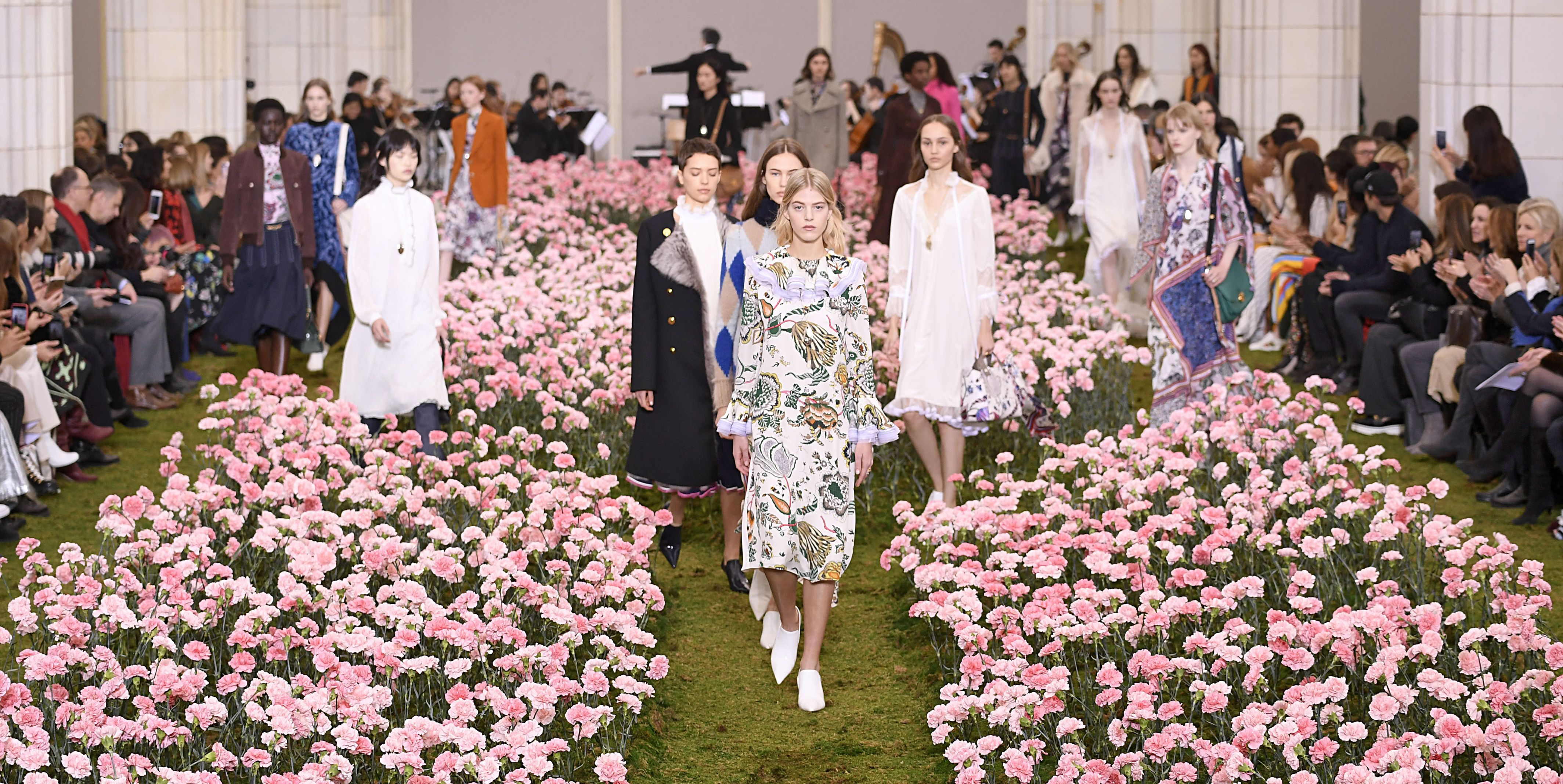 New York Fashion Week Tory Burch Fall Winter 2018-19 Collection