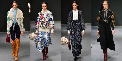 Fashion, Fashion model, Runway, Clothing, Fashion show, Fashion design, Street fashion, Outerwear, Haute couture, Collection,