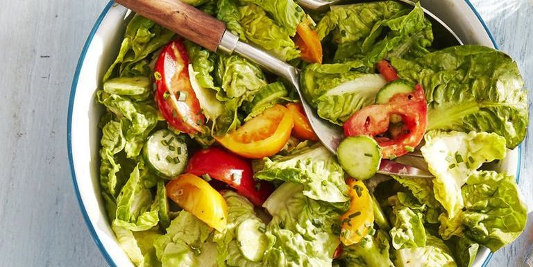 Best Tossed Salad With Green Goddess Dressing How To Make Tossed Salad With Green Goddess Dressing