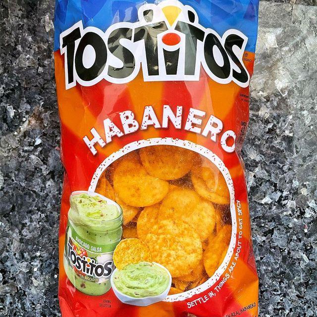 frito lay tostitos habanero chips flavor