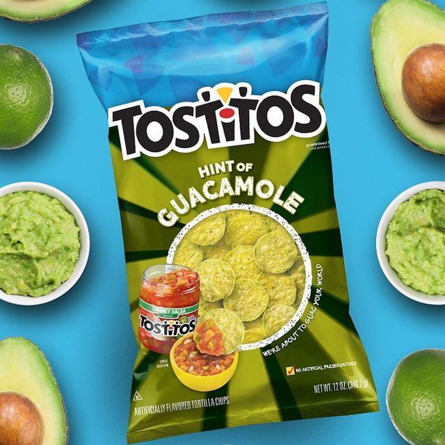 tostitos hint of guacamole tortilla chips