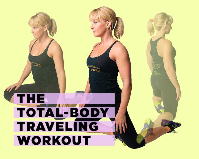 The Total-Body Circuit Workout You Can Do While You Travel